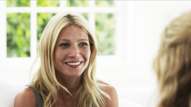 Amanda de Cadenet and Gwyneth Paltrow on Fathers