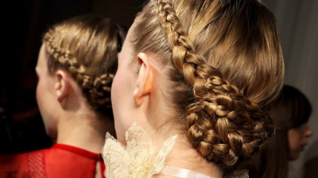 A Modern Look at Braids and Ponytails