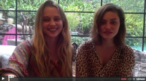 Teresa Palmer has The Conversation with Phoebe Tonkin about Friendship