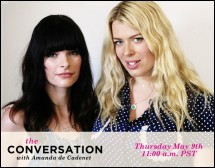 Google Hangout With Amanda de Cadenet and Kelly Oxford!