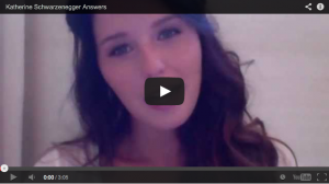 Katherine Schwarzenegger Answers Your Questions