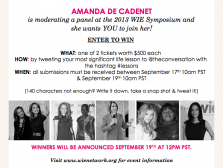 Win a Ticket to the WIE Symposium in NYC