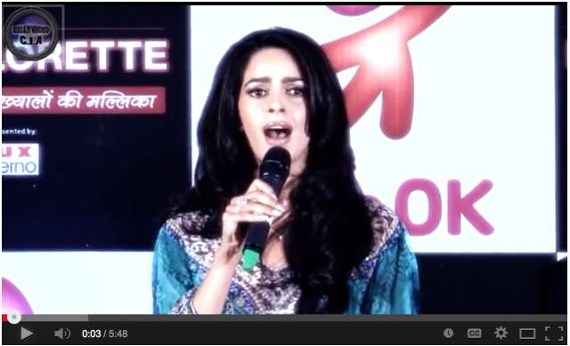 Bollywood Actress Mallika Sherawat lays it down!