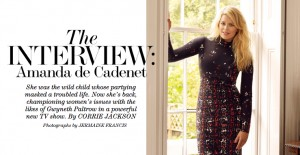 The Interview: Amanda de Cadenet & NET-A-PORTER