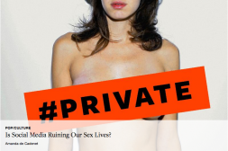 Slutshaming,social media and sexting .