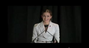 Emma Watson launches #HEforSHE campaign.