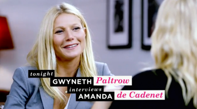 When Gwyneth interviewed Amanda