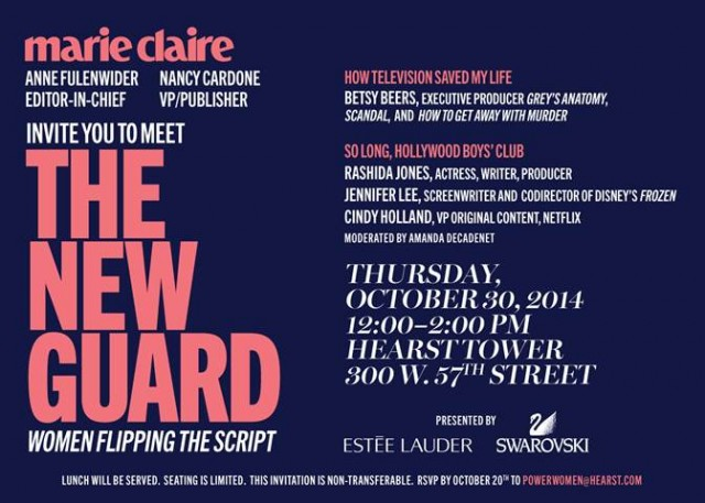 The Marie Claire New Guard
